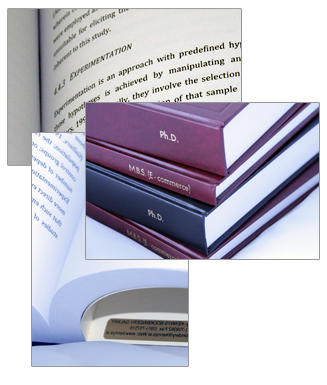 Thesis & dissertations Printed and Bound by Kennys Book Binding