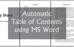 Creating Automatic Table of Contents MS Word